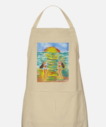 Twins at Beach Apron