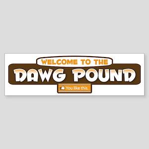 DPLikeBrowns Sticker (Bumper)