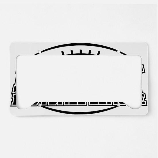 Fantasy Football League License Plate Holder