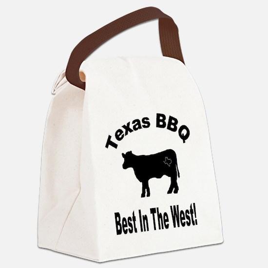 Texas BBQ Canvas Lunch Bag
