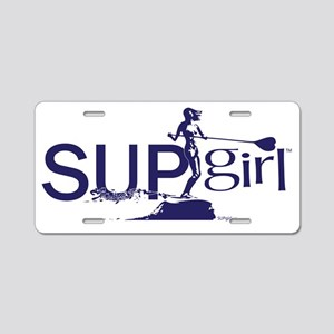 SUPgirl_TS006 Aluminum License Plate