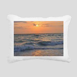 Siesta Key Sunset1 Rectangular Canvas Pillow