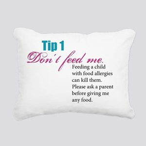 Tip-1 Rectangular Canvas Pillow