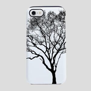 Black Tree iPhone 7 Tough Case