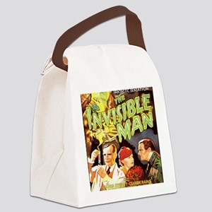 Invisible Man BIG Canvas Lunch Bag