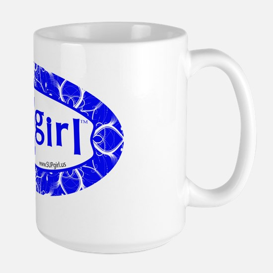 supGIRL_4x8magnet Large Mug