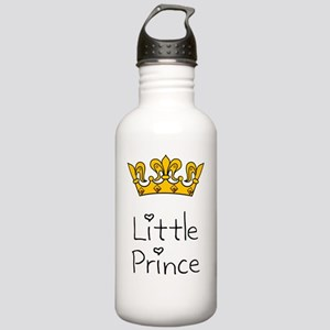 Little Prince Black Stainless Water Bottle 1.0L