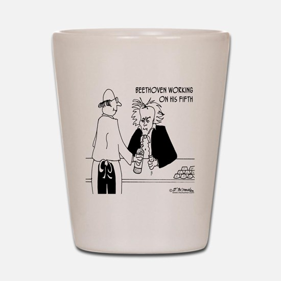 4256_beethoven_cartoon Shot Glass