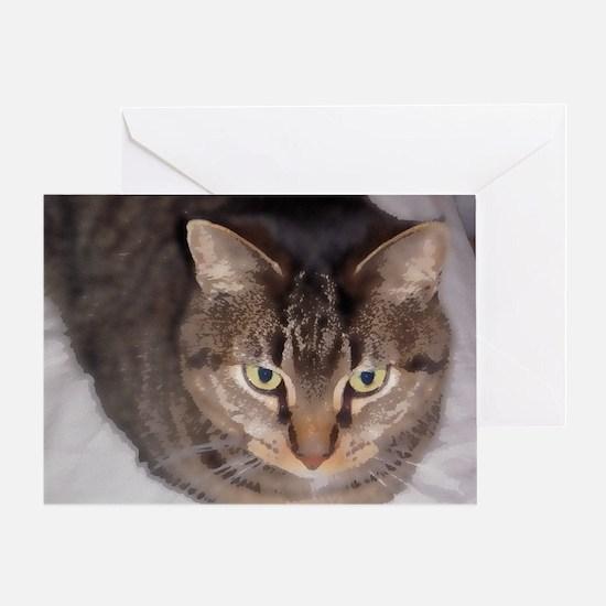 Snuggle-WC-M Greeting Card