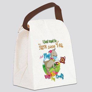 GOAT | Just Want to Have Some Tea Canvas Lunch Bag
