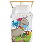 GOAT | Just Want to Have Some Tea Twin Duvet Cover