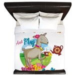 GOAT | Just Want to Have Some Tea Play King Duvet
