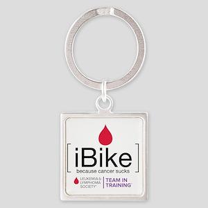 ibike Square Keychain