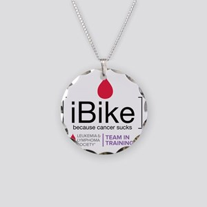 ibike Necklace Circle Charm