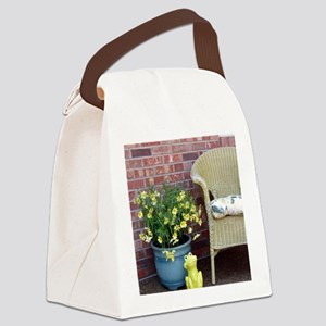 Picture 2570 Canvas Lunch Bag
