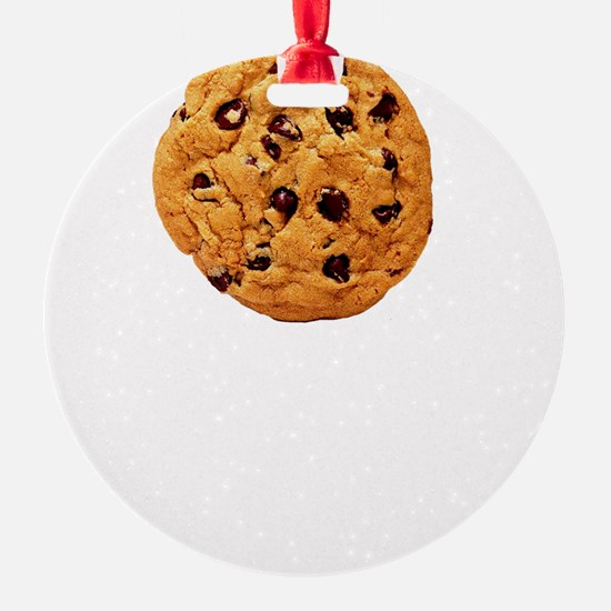 Cookie Inspector White Ornament