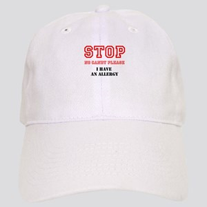 Allergy Warning Baseball Cap