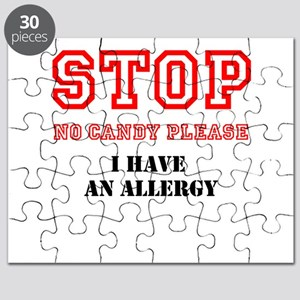 Allergy Warning Puzzle