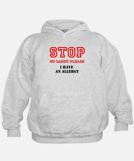 Allergy Warning Hoodie