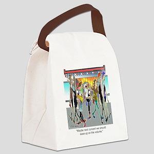7842_concert_cartoon Canvas Lunch Bag