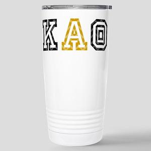 Kappa Alpha Theta Athle Stainless Steel Travel Mug