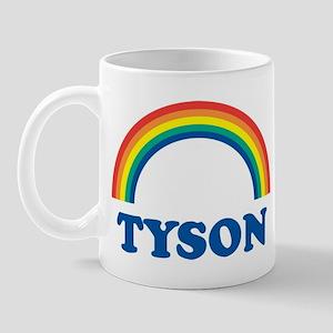TYSON (rainbow) Mug