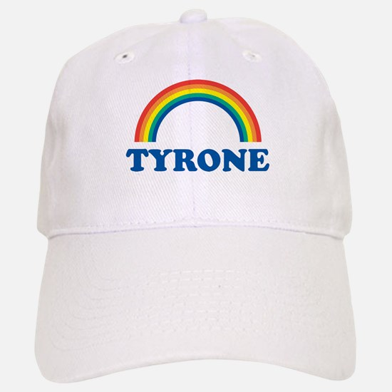 TYRONE (rainbow) Baseball Baseball Cap