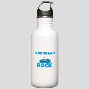 Blue Whales rock! Stainless Water Bottle 1.0L