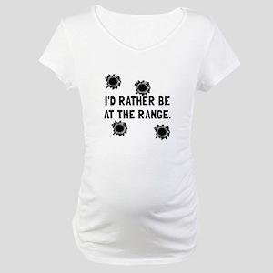 Gun Range Maternity T-Shirt