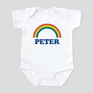 PETER (rainbow) Infant Bodysuit