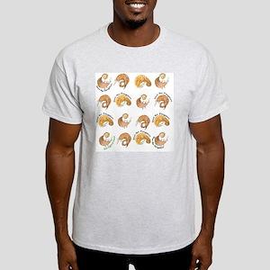 pangolin flipflop rolly text2 Light T-Shirt