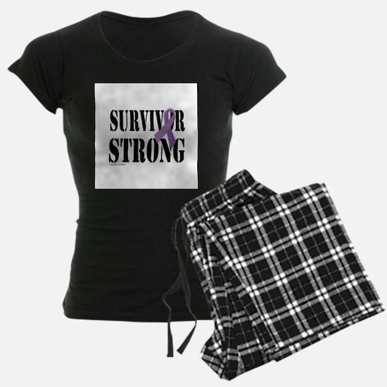 survivor strongpurple Pajamas