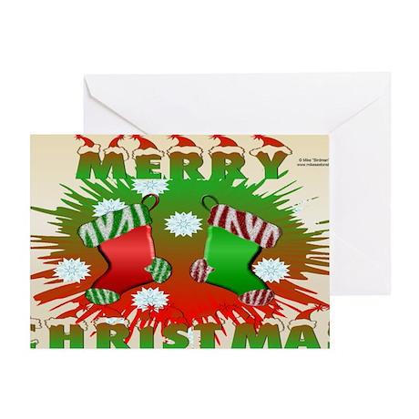 MerryXmas_LaptopSkin Greeting Card