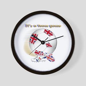 team game british kids 2 Wall Clock