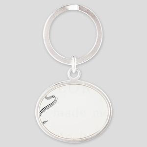lokimademe4dk Oval Keychain