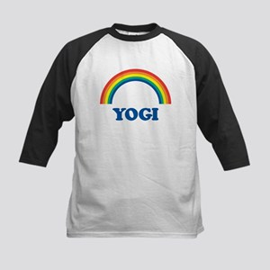 YOGI (rainbow) Kids Baseball Jersey