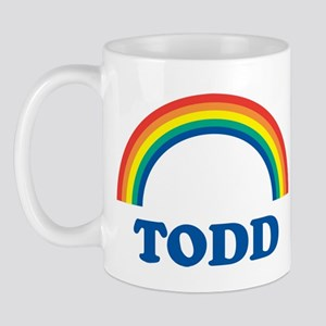 TODD (rainbow) Mug