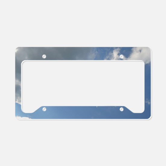 Be Inspired License Plate Holder