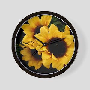 Yellow_Sunflowers Wall Clock