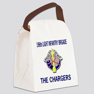 196th LIGHT INFANTRY BRIGADE Canvas Lunch Bag