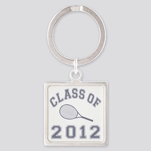 CO2012 Tennis Gray Square Keychain