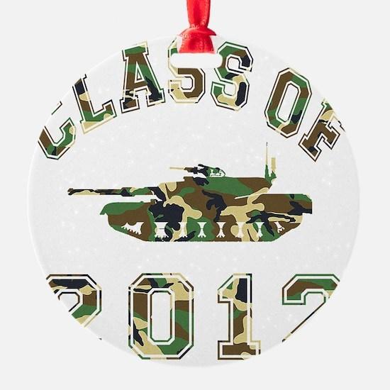 CO2012 Tank Camo Ornament