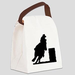 10075006%20barrel%20racer Canvas Lunch Bag