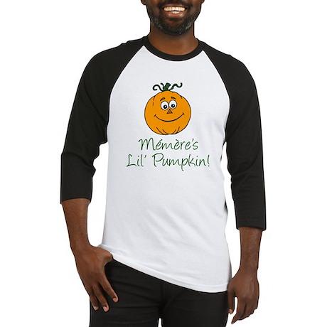 Memeres Little Pumpkin Baseball Jersey