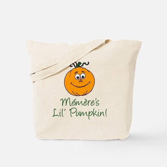 Memeres Little Pumpkin Tote Bag