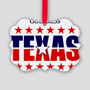 Texas Picture Ornament