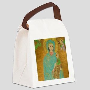 PerpetualHelpLaptop Canvas Lunch Bag