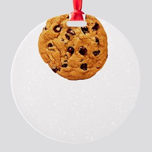 Cookie Inspector White SOT Round Ornament