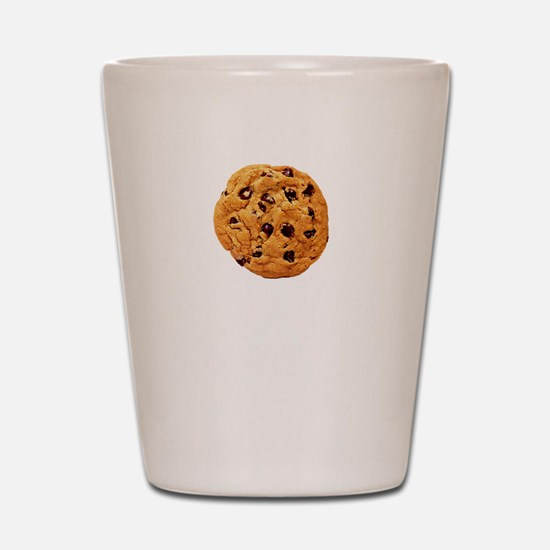 Cookie Inspector White SOT Shot Glass