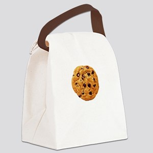 Cookie Inspector White SOT Canvas Lunch Bag